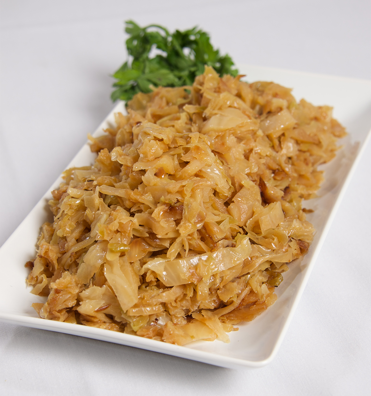 Slow Cooked Cabbage and Onions