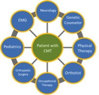CMT patient evaluation graph
