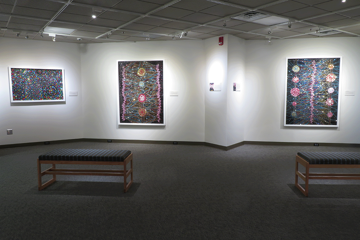 Dylan Mortimer install view 1