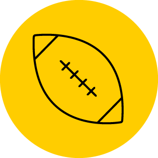 Illustration of a football
