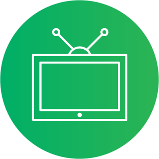 Illustration of a television