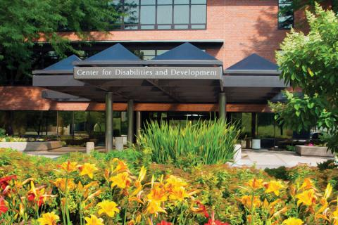 Center for Disability and Development entrance