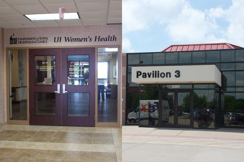UI Women's Health Center Building