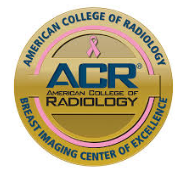 American College of Radiology—Breast Imaging Center of Excellence badge