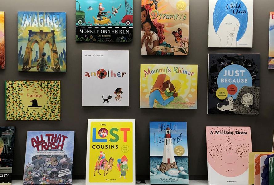Children's Books Display, 2019-2020