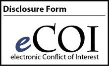 electronic Conflict of Interest Disclosure Form