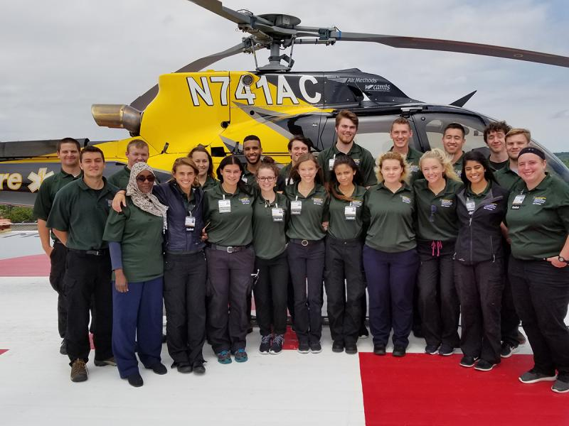 EMT group photo from June 2018