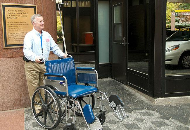 Wheelchair Valet