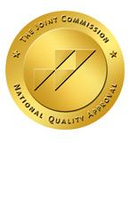 Joint Commission seal of specialty pharmacy accreditation