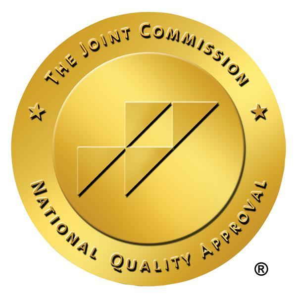 National Quality Approval seal from the Joint Commission