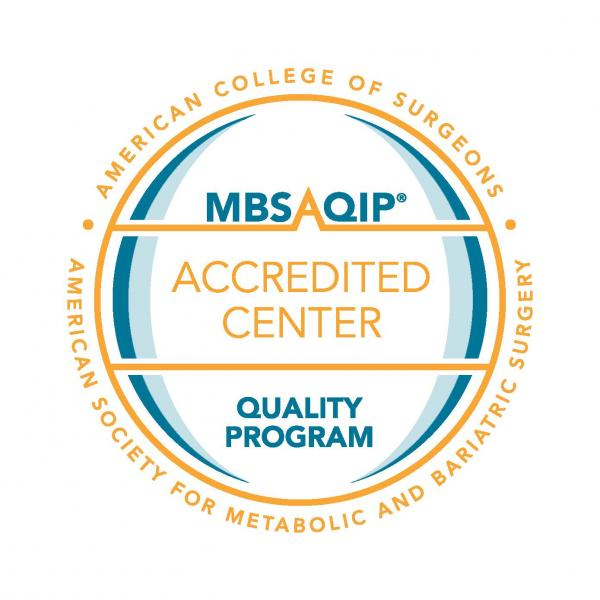 MBSAQIP Accredited – Comprehensive Center seal