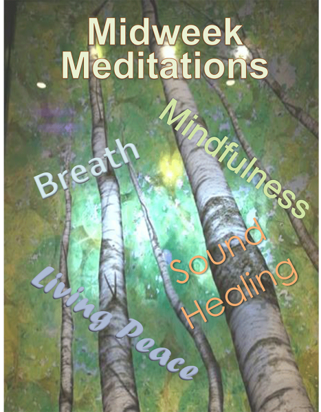 midweek meditations poster
