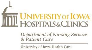 University of Iowa Hospitals and Clinics Department of Nursing Services and Patient Care