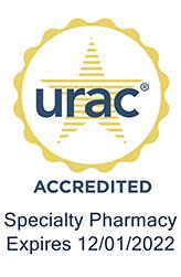URAC accredited seal expiring 2022