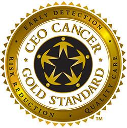 CEO Cancer Gold Standard Logo