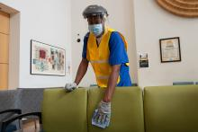 Enhanced cleaning team, photo
