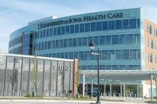 UI Health Care Iowa River Landing Building